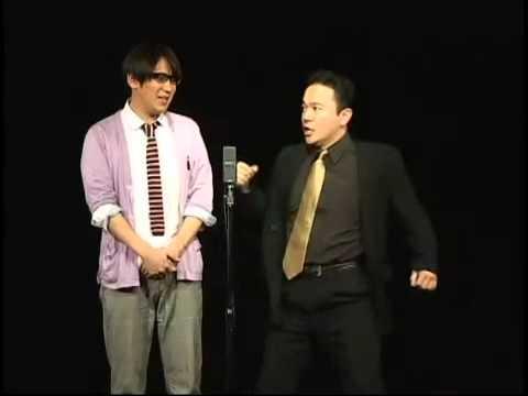 米粒写経 漫才 2012 07 - YouTub...