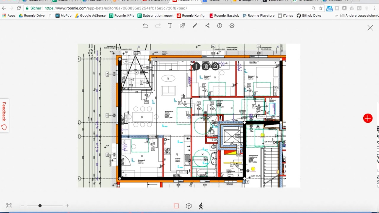 How To Upload A Floor Plan Image Create A Floor Plan Out Of It Youtube