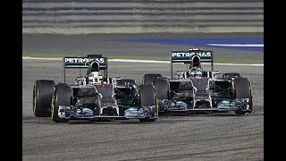 Formula One Feuds: Nico Rosberg vs. Lewis Hamilton