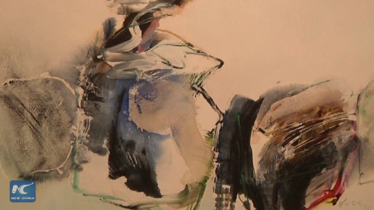 East Meets West In Chinese Abstract Paintings