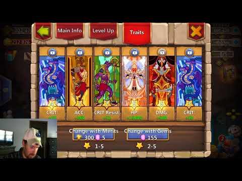 Castle Clash: Augmenting GRIM! Rolling Traits! Line ID Change!