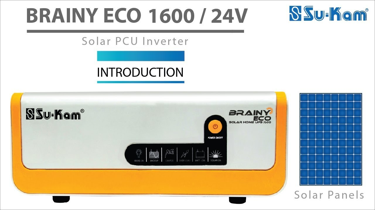 small resolution of  iny eco 1600 24v introduction solar pcu inverter youtube wiring diagrams v for solar solar panel installation