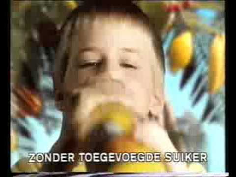 Punica commercial from the 90s (1) (Dutch)
