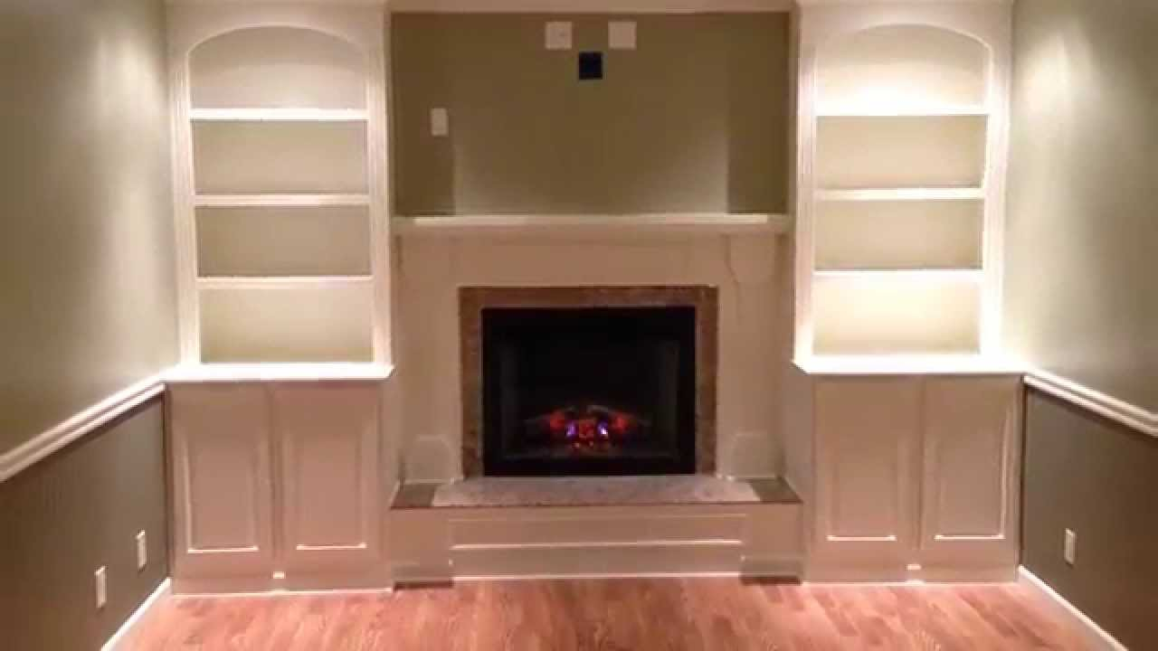 Fireplace remodel - YouTube