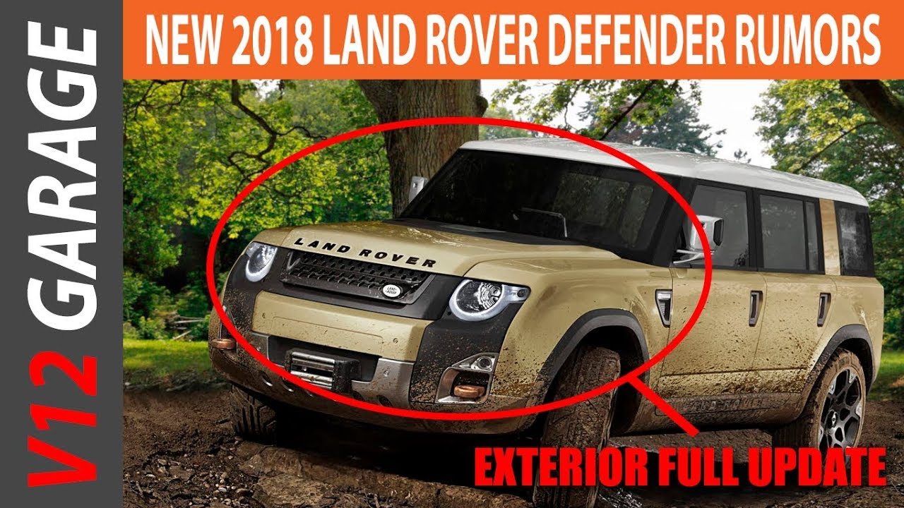 2018 Land Rover Defender Usa Review And Price Youtube