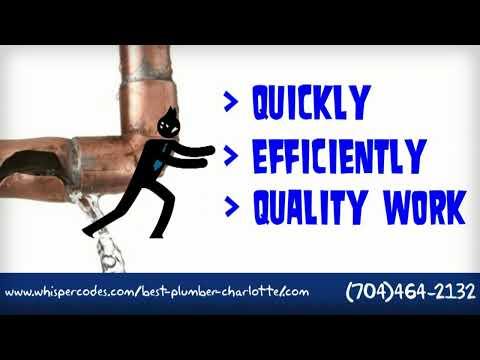 #1 Emergency Charlotte NC Plumber Solution | (704)464-2132 | Emergency Charlotte Plumbing