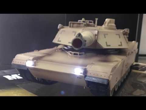 XQ M1A2 Abrams RC Tank 1/24 Scale