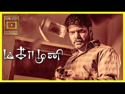 Magamuni | Movie Climax | Maga Arya Kills All His Enemies | Maga Arya Travels To See His Muni's Son