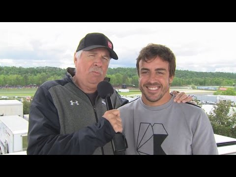 IndyCar: Fernando Alonso with RACER