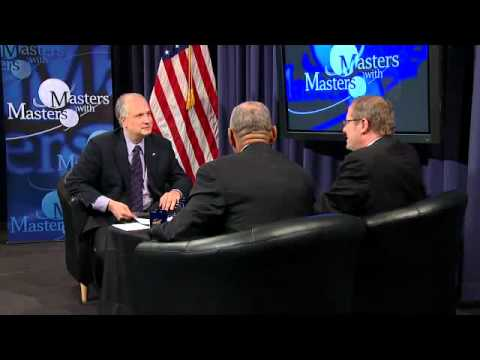 Masters with Masters 6 (Charlie Bolden and Johann-Dietrich Wörner)
