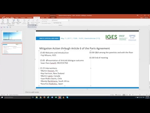 IGES/ ICTSD: Mitigation Action through Article 6 of the Paris Agreement