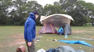 2012 12 1 2 西貢 灣仔 露營日 3 晚上強風大雨來襲