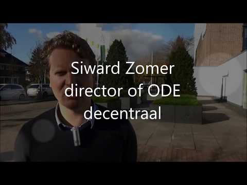 Interview about lobby with Siward Zomer of ODE decentraal by MobGIs grassroots.aau.dl