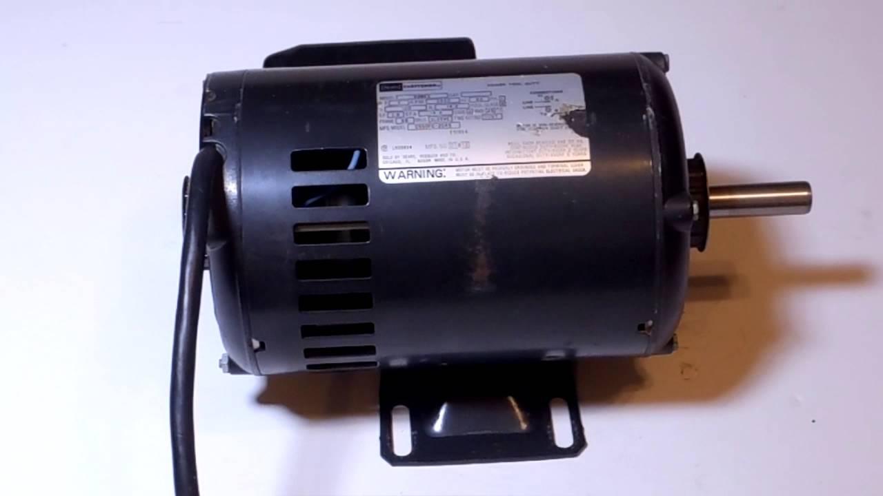 Craftsman 1 Hp Motor Rpm