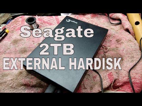 Seagate 2 TB EXTERNAL HARD-DISK  REPAIR #CASING REPAIRED