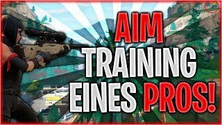 🎯🧐 AIMEN WIE DIE PROS! Aim-Map Training in Fortnite | Fortnite Battle Royale