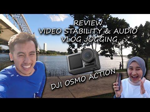 Review Video Stability & Audio DJI Osmo Action Sambil Jogging Tempat Terindah Putrajaya