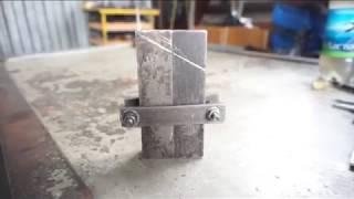 №6. Зажигалка - Парабеллум.  Изготовление  рукоятки.