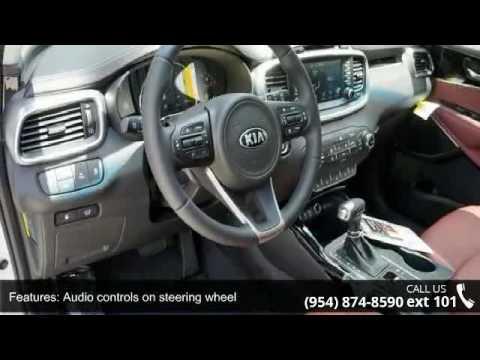 2017 Kia Sorento 3 3l Sx Gunther Kia Of Fort Lauderdale Youtube