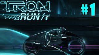 TRON RUN/r - Walkthrough - Part 1 - TRON City: Disc 01 (PC HD) [1080p60FPS]
