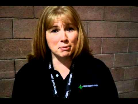VMworld 2011: Crystal Lowe