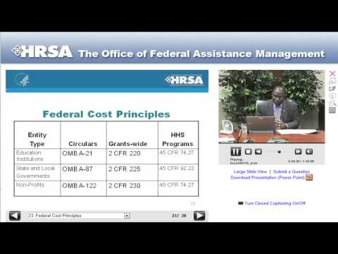 The HRSA Grants Life Cycle