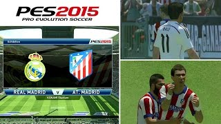 [TTB] PES 2015 - Real Madrid Vs Atletico Madrid - Exclusive Commentary