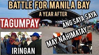 MALAKAS ANG PADRINO, PERO DI UMUBRA!🤣🤣 MANILA BAY CLEAN UP DRIVE FIRST ANNIVERSARY