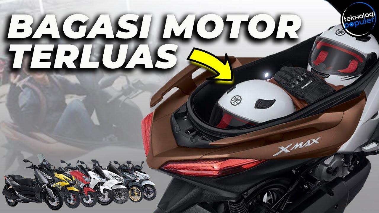 Dua Helm Full Face Masih Longgar! ini 10 Motor Matic Keren dengan Bagasi Super Luas