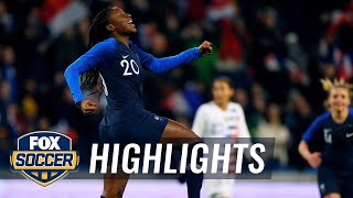 Kadidiatou Diani doubles France's lead over the USWNT | Women's International Friendly Highlights