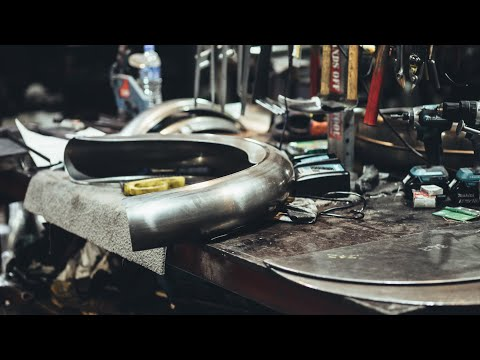 Vintage Steel: Making Mudguards for Classic Motorcycles