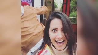 Anita Hassanandani Recreates DDLJ Moment With Her Husband || FUNNY VIdeo