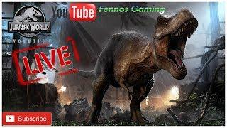 Fennos Gaming Live stream PS4 Jurassic World Evolution part 8