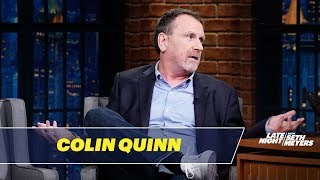 Colin Quinn Talks About Surviving a Heart Attack