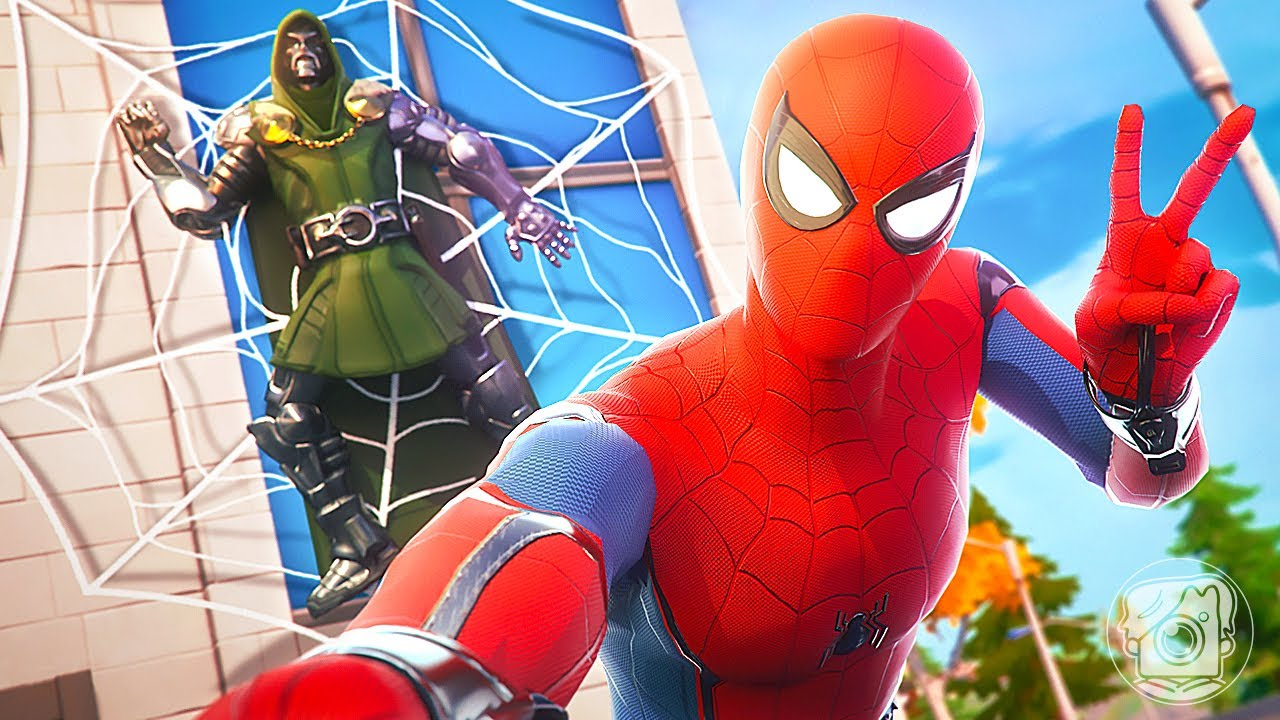 Download A DAY IN THE LIFE OF SPIDERMAN! (A Fortnite Short Film)