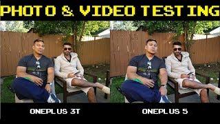 OnePlus 3T vs OnePlus 5 - Photo & Video Testing