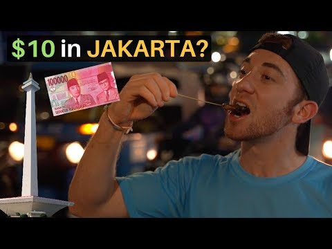 What Can $10 Get You in JAKARTA, INDONESIA?