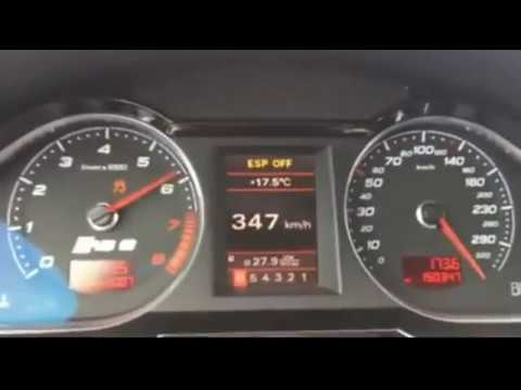 Audi RS6 launch control - YouTube