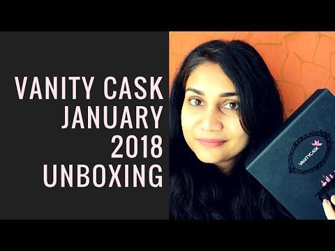 Vanity Cask January 2018 Unboxing + FREE Thalgo Discovery Box + FREE Product | Nidhi Katiyar