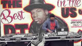 Jam Master Jay Tribute Featuring DJ Scratch & Jam Master Jay's Son TJ Mizell