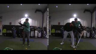 SIMPLE LESSON ON IMPROVING IMPACT POSITION - Rick Shiels Quest Golf Academy
