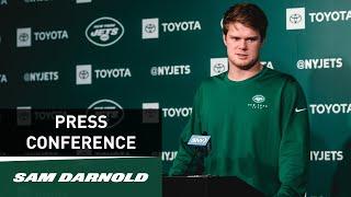 Sam Darnold Press Conference (10/17) | New York Jets | NFL