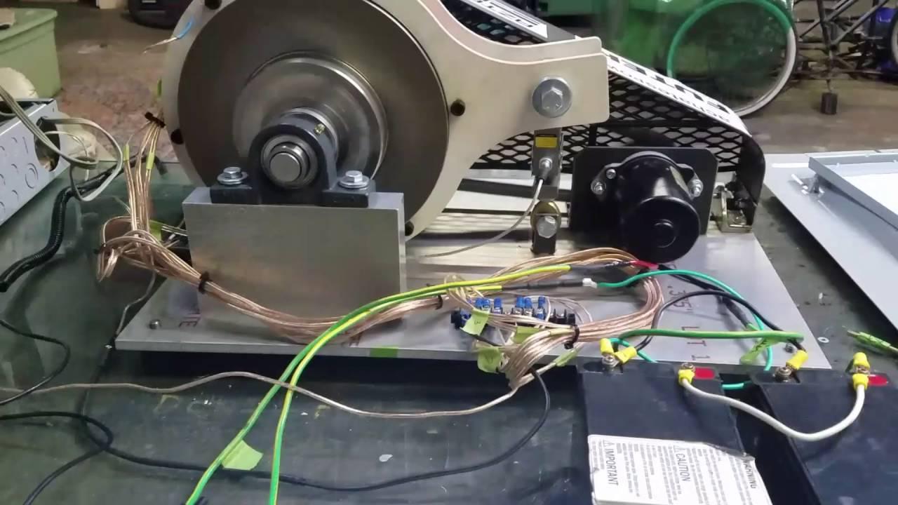 Eddy Current Dynamometer : Senior design eddy current dynamometer for fsae youtube