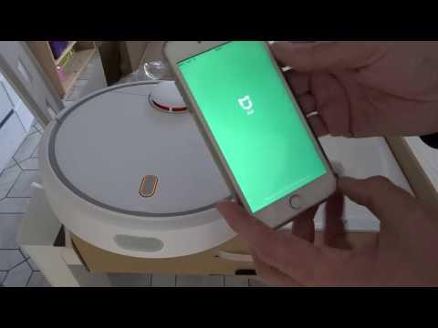 Test Aspirateur Robot Xiaomi Mi Robot Vacuum, Partie 1  Déballage, Connexion, Premier Essai