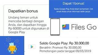 Dapatkan saldo google Playstore GRATIS hanya dengan share file | FILE GO thumbnail