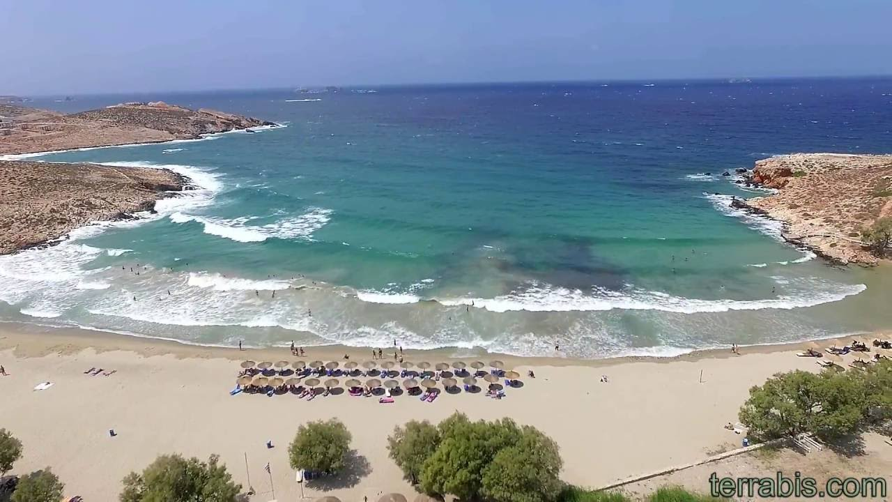 Parasporos Beach Paros Island Greece