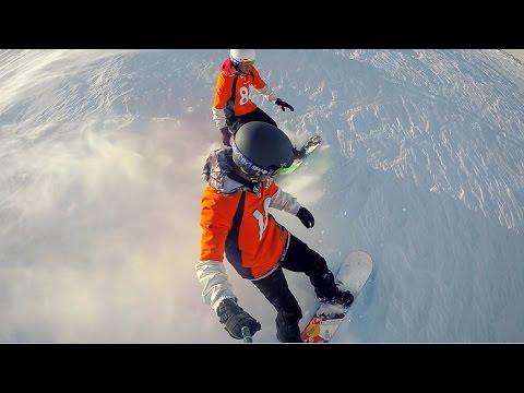 Snowboarding Freestyle at 12,000 Feet!