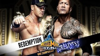 WWE WrestleMania [29] XXIX ► John Cena vs The Rock [OFFICIAL PROMO HD]
