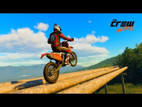THE CREW WILD RUN /// PS4 \\\  KTM 450 EXC ENDURO PETROL CAMPS