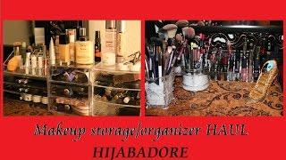 Acrylic Makeup Storage Organizers HAUL- EBAY; MARSHALLS; & DOLLAR STORE ~~AFFORDABLE